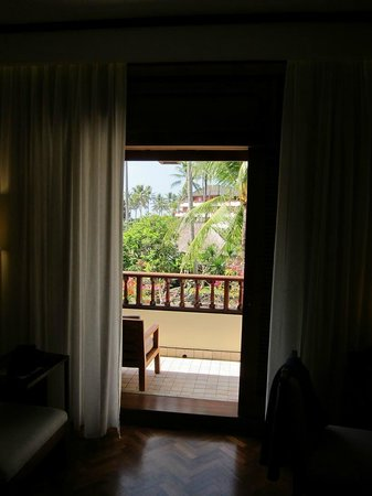 Nusa Dua Beach Hotel & Spa:                   our balcony