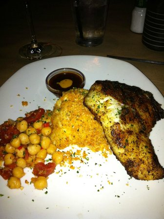 Bonefish Grill:                   Chilean Sea Bass with the au gratin potatoes