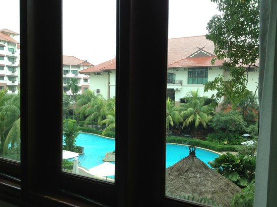 Holiday Inn Resort Batam:                   View from master bedroom.