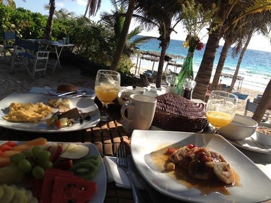 Be Tulum Hotel: unser wundervolles frühstück