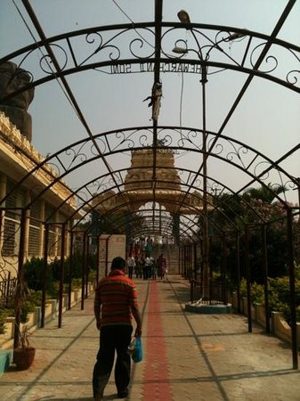 Bhadrakali Temple:                   the corridor