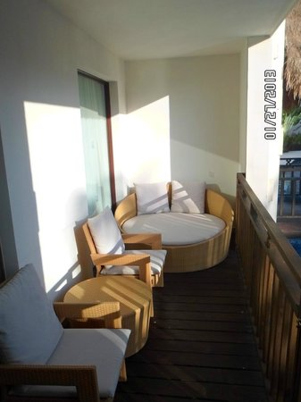 Azul Beach Resort Riviera Maya :                   Our amazing deck!