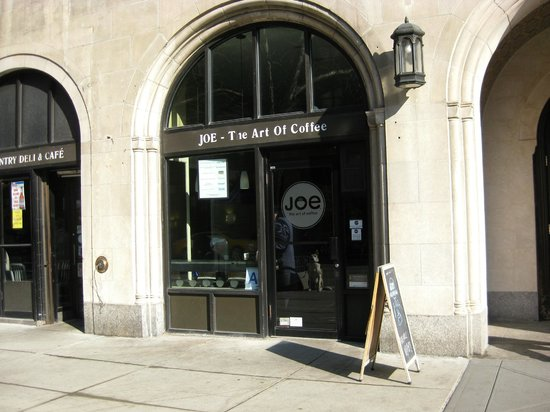 Joe, the art of coffee : Exterior - Front