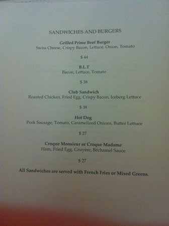 Room Service Menu Picture Of Raffles Hotel Singapore Tripadvisor