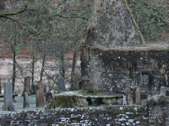 Kathleen Cameron, Scottish Tourist Guide:                   Church ruin and graveyard.