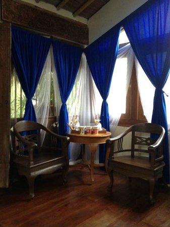 Sapu Lidi Resort :                   coffee corner