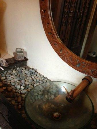 Sapu Lidi Resort:                   washtafel