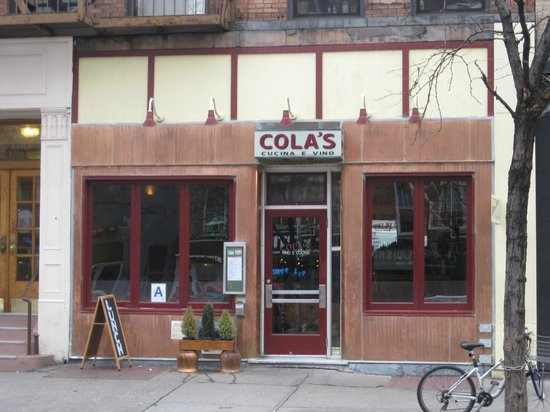 Cola's :                   Exterior - Front