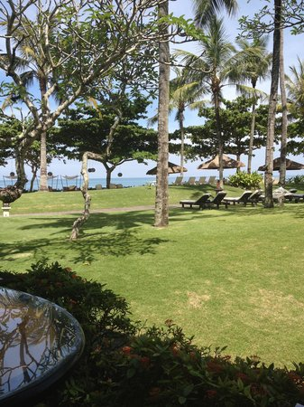 INTERCONTINENTAL Bali Resort:                   View for breakfast