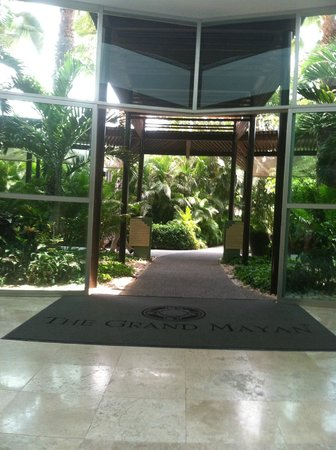 The Grand Mayan at Vidanta Nuevo Vallarta:                   walking to pool