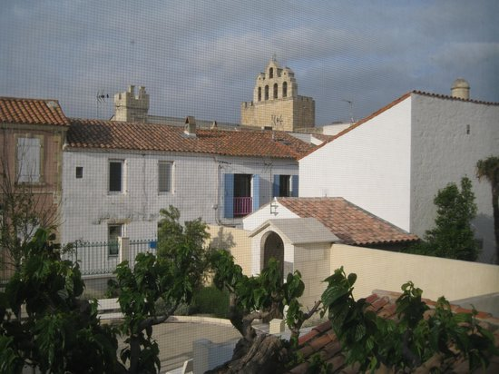Hotel Mediterranee :                   View from the room
