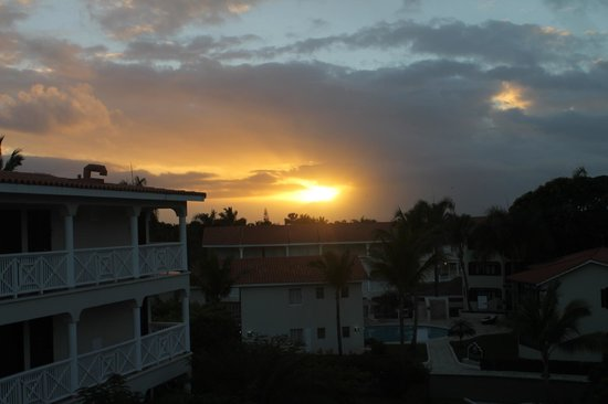 The Tropical at Lifestyle Holidays Vacation Resort:                   Sunrise from building 5