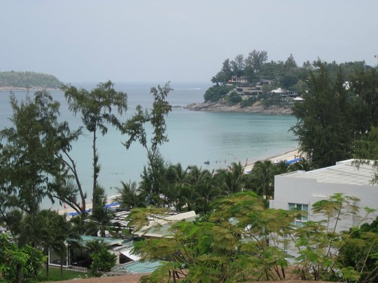 The Shore at Katathani:                   Veiw from pool in villa 8827