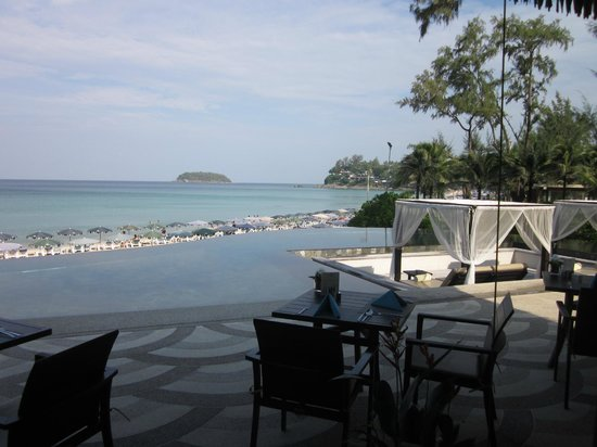 The Shore at Katathani:                   Another view from The Harbour Restaurant