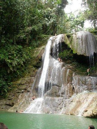 EV's Vacation Rentals Rincon Puerto Rico: Waterfall San Sabestian