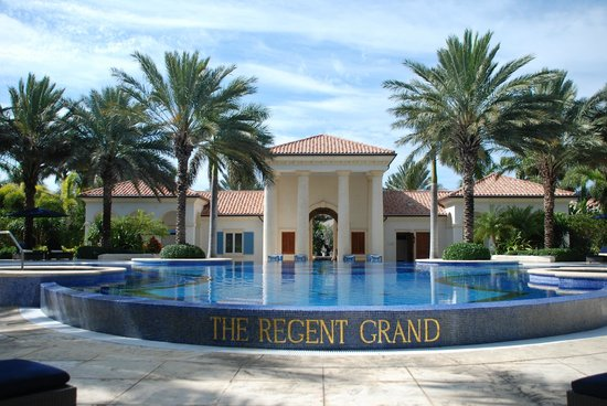 The Regent Grand :                   View as you walk off the beach