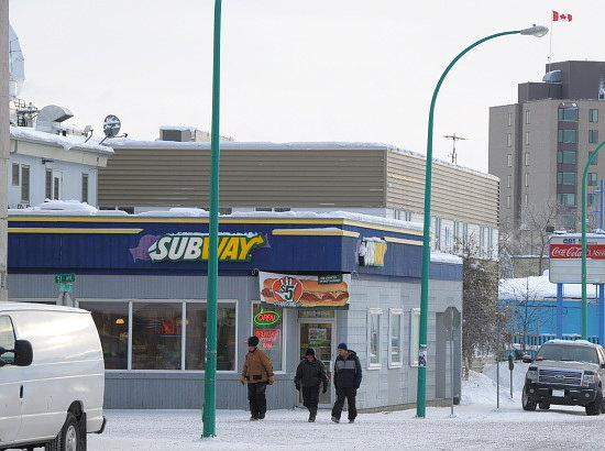 Subway, Yellowknife