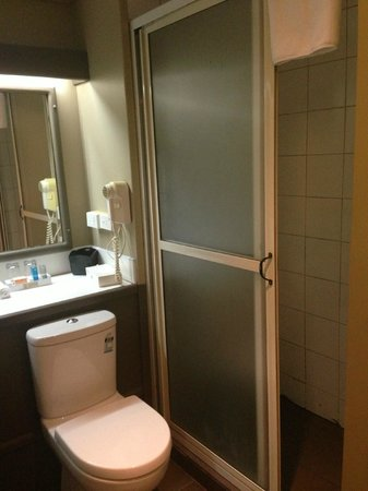 Novotel Suva Lami Bay: Very small bathroom