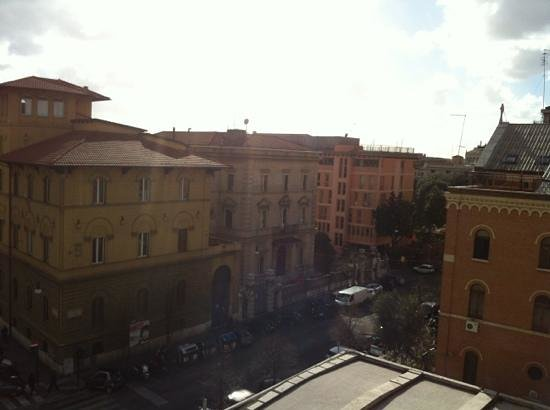 Hotel Romanico Palace:                   view from room