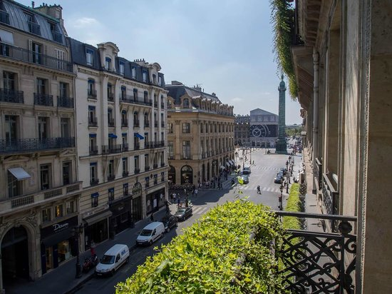 Park Hyatt Paris - Vendome:                   View from the room