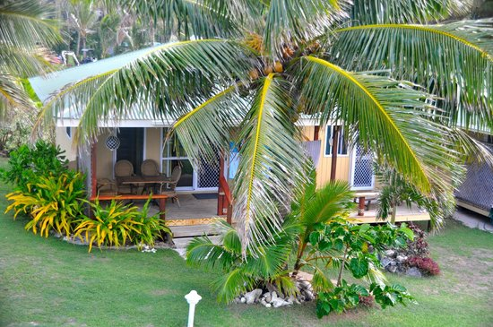 Tropical Sands:                   our bungalow