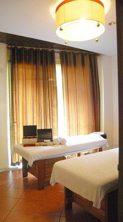 Oasis Spa Pattaya: my treatment room