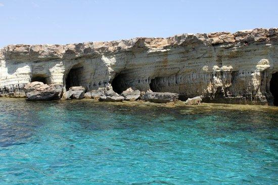 Cape Greco (Cavo Greco):                   Sea Caves