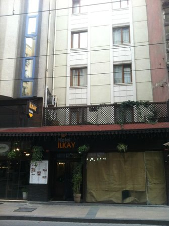 Hotel Ilkay: aussenfassade