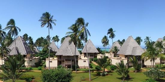 Neptune Pwani Beach Resort & Spa:                   Garten