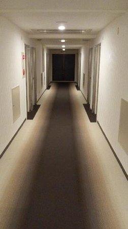 Elcasa Minami-Fukuoka:                   6階エレベーターの中から撮りました。 シックで落ち着いた感じの廊下です。