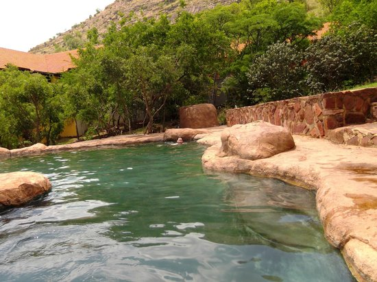 Waterfall Safari Lodge:                                                       pool