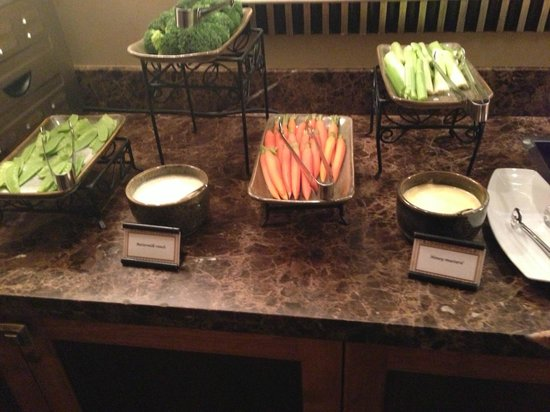 Hyatt Regency Huntington Beach Resort & Spa:                   Crudite
