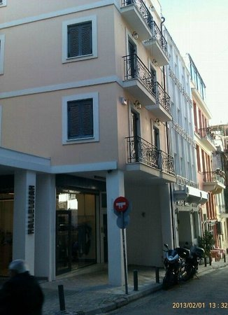 Hermes Hotel:                   Area