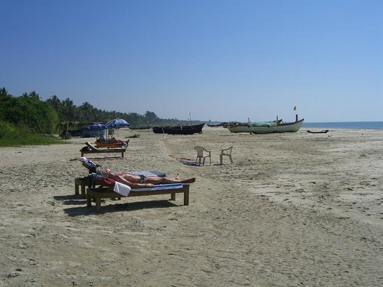 Cansaulim Beach : the beach