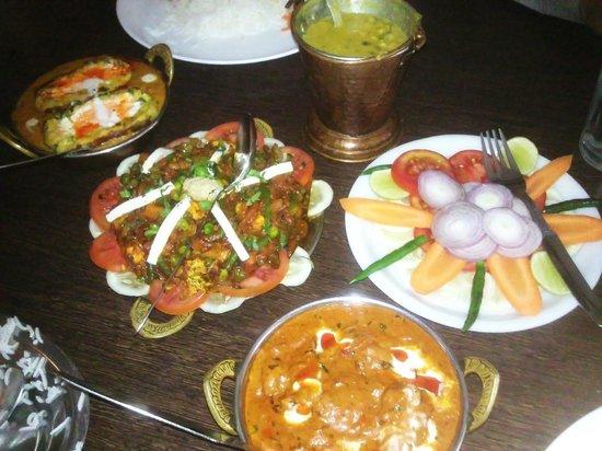 KALASH:                                     North Indian dishes