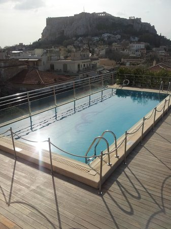 Electra Palace Athens:                   view