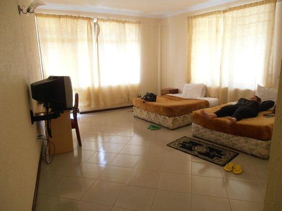 Landmark Hotel:                   Our spacious room