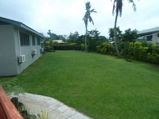 Riverside Samoa:                                     Riverside-beautiful landscaping