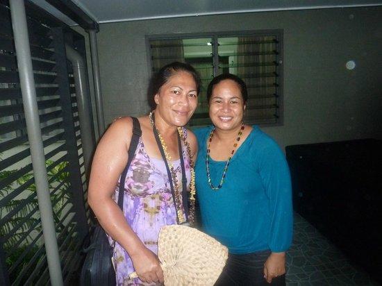 Riverside Samoa:                                     Riverside-farewell Sylvia, will miss your warm smile♥♥