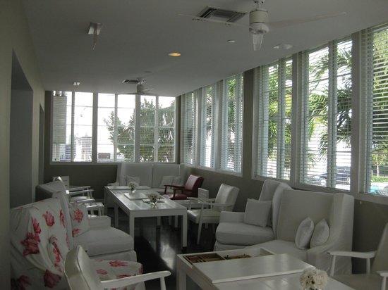 Townhouse Hotel:                   Frühstücksraum