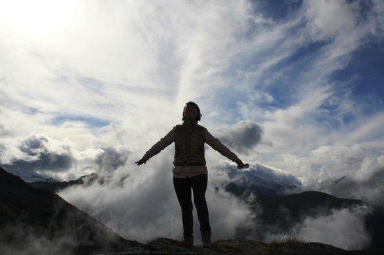 Mondi-Holiday Bellevue:                   Über den Wolken...