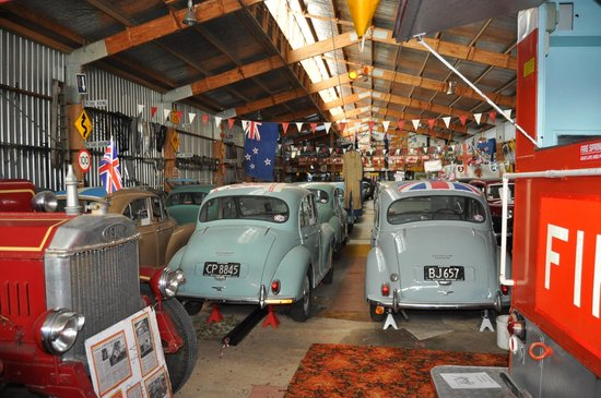 British Car Museum:                   Some of the Morris Minors.