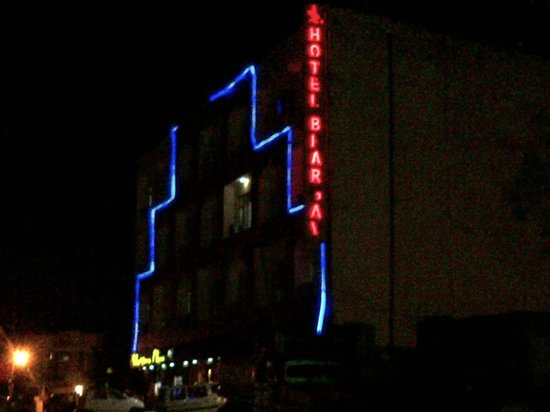 Hotel Bhargav:                                     Night Vew
