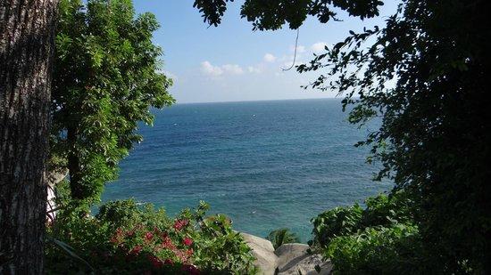 Jamahkiri Resort & Spa:                                     une autre vue sur mer