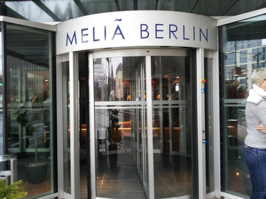 Meliá Berlin:                   Entrance Friedrichstrasse 103