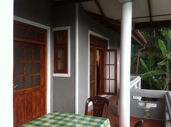 Green Side View Inn:                                     balcony