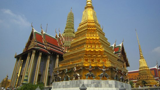 The Grand Palace: B'ful temple