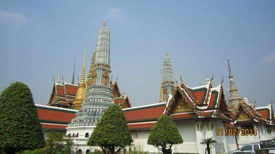 Kungliga palatset i Bangkok: Temple