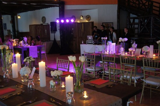 Mahekal Beach Resort:                                                                         Reception