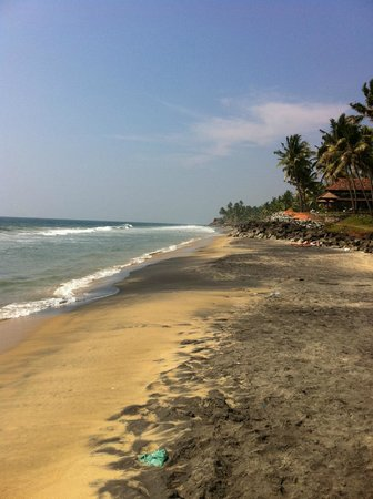 Good Karma Beach Resort: Beach from Odayam